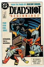 DEADSHOT #1 NM- Batman Cover Appearance! From the Pages of Suicide Squad DC 1988