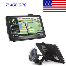 """Gps Navigation Car 7"""" Touch Screen Free Map SWF Support USB With Game USA"""