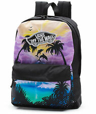 Vans DOLPHIN BEACH Backpack (NEW) School Bag REALM Tropical Sunset FREE SHIPPING