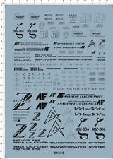 Super Detail Up PG 1/60 Z zeta msz-006 sas Gundam Model Kit Water Slide Decal