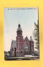 Watertown,WI Wisconsin, Ev. Luth. St John's Church,Evangelical Lutheran