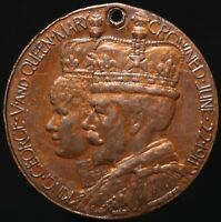 1911 | George V & Queen Mary Coronation Medal | Medals | KM Coins