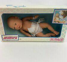 Vintage Jesmar Baby Boy Doll ~ Anatomically Correct Newborn ~17 inch w Box