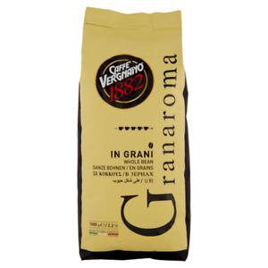 6 pacchi di Caffè Vergnano GranAroma in grani, pacchi da 1 kilo