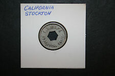 "Vintage E. T. Mape ""Good For"" Token No Value Stockton CA Holed"