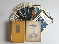 Collection of Hasselblad books, magazines & leaflets