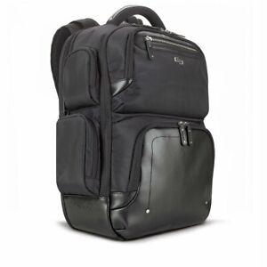 "Solo Lexington 15.6 Inch Laptop Bag 16.54"" x 4.33"" x 18.5"" Polyester Black NEW"