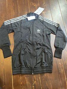 Adidas Originals D Sleek Medalist Track Top Jacket Size 12 Medium Superstar
