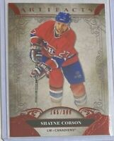 Shayne Corson *Ruby* 2020-21 Upper Deck Artifacts 🏒 #/399 - Montreal Canadiens