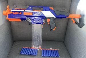 Nerf Rapidstrike CS-18 Elite Blaster Mit 18 Magazin & 20 Neue Darts (Batterien)