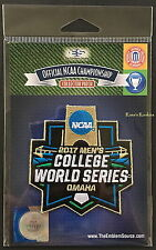 2017 NCAA MEN'S COLLEGE WORLD SERIES OFFICIAL JERSEY PATCH - FLORIDA GATORS