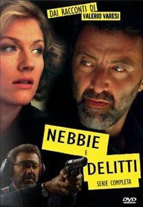 """SERIE TV """"NEBBIE E DELITTI"""" 3 STAGIONI 7 DVD -14 EPISODi 2005-2009 L.BARBARESCHI"""