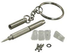 Spectacle Repair Kit Precision Screwdriver 4 Nose Pads Side Nose Screws Case