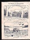 WWI Caricature Poilus Guerre Canons/Map Carte Austria Hungary 1917 ILLUSTRATION