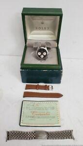Vintage Rolex Daytona 6262 Cosmograph Valjoux Cal 72 Box Paper Tag Full set kit