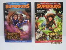 Commander Kellie And The Superkids Books by Christopher P.N. Maselli, Lot of 2