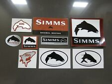 Vintage Simms Sticker Collection