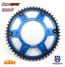 Supersprox Stealth Sprocket 50T Blue KTM Husqvarna SX SXF EXC EXCF TC FE TE FC