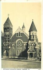 1942 Methodist Episcopal Church, Towanda, Pennsylvania Postcard