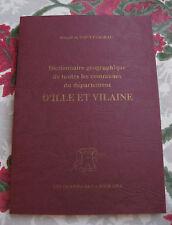 Dictionnaire géographique des communes d'Ille et Villaine Saint-Fargeau Bretagne