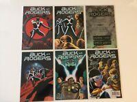 Lot of 6 Buck Rogers Vol 4 #1 2 3 4 5 7 Variants Dynamite Comics 2009 VF/NM