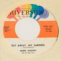 45rpm Mark Murphy IT'S LIKE LOVE / FLY AWAY, MY SADNESS ~ Riverside JAZZ VOCAL