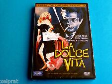 LA DOLCE VITA - Federico Fellini - Restaurada digitalmente - Precintada
