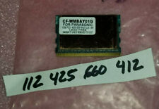 G 1GB DDR2 PC2-4200  SODIMM for Panasonic Toughbook 19 Mk2 CF-19F H Memory RAM