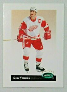 1994-95 STEVE YZERMAN Detroit Red Wings Parkhurst Hockey Card #V57