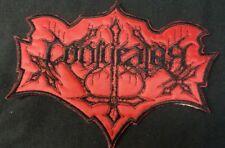 CONJURATOR - Official Embroidered Cut Shaped Logo Patch