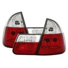 2 FEUX ARRIERE BMW SERIE 3 E46 TOURING 10/1999 A 01/2005 BLANC ROUGE CRISTAL