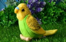 small cute plush parrot toy lovely green&yellow bird doll gift about 12cm