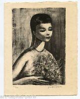 LITHOGRAPHIE 1959 SIGNÉ AU CRAYON NUM/200 HANDSIGNED NUMB LITHOGRAPH STYLE GOERG