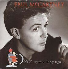"PAUL McCartney - Once Upon A Long Ago (ps)  7"" 45"