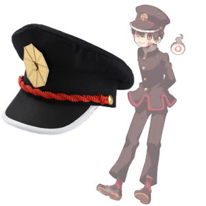 Toilet-Bound Hanako-kun Hat Cosplay Hanako Kun Cap Anime Costume Accessories