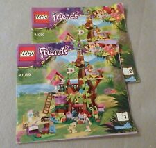 LEGO Friends Instruction Manual Only #41059 Jungle Tree Sanctuary Books 1 & 2