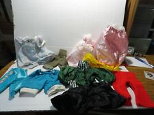 Lot Of 9 Pcs Of Doll Clothes For Medium Size Doll Pants Dresses Etc