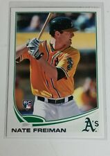 2013 Topps Update ROOKIE Nate Freiman # US264 Athletics Mint RC
