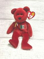 Osito Mexico Bear 5th Gen 1999 Retired Ty Beanie Baby Vintage Collectible Mint