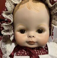 "19"" Vogue Dream Baby Artist Reproduction Bisque Porcelain Kit Doll"