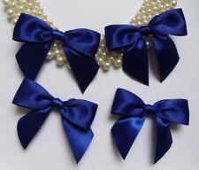 "3"" (W) Royal Blue Satin Ribbon Bows-Lots of 15 pcs (R0046D)"
