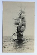 Old postcard THE WINDJAMMER sailing ship