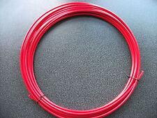 10 METRI BOBINA 4mm Jagwire L3 Rosso Deragliatore Gear Foderato Alloggiamento Cavo Esterno