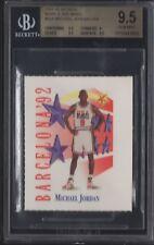 BGS 9.5 MICHAEL JORDAN 1991-92 Skybox Mark & See Minis Team USA #534 GEM MINT