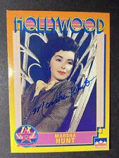 MARSHA HUNT SIGNED HOLLYWOOD CARD, COA & MYSTERY GIFT (680)