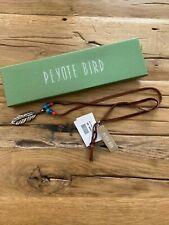 PEYOTE BIRD Charm Pendant .925 Silver Necklace - PB16N126