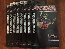 2016 College  Gameday Football Program Arizona vs Colorado with Game Ticket