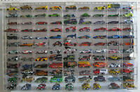 108 Hot Wheels 1:64 Scale Diecast Display Case, UV Protection Acrylic, AHW64-108