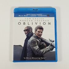 Oblivion Blu Ray Dvd Combo Tom Cruise Morgan Freeman Sci-Fi Movie