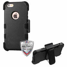 MYBAT Natural Black/Black TUFF Hybrid Case Combo w/ Holster for iPhone 6s